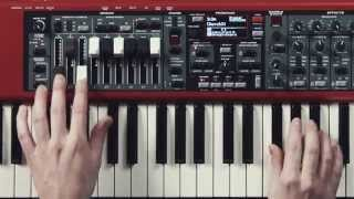 Nord Electro 5 - Organ section
