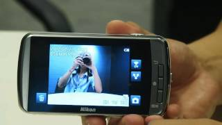 Nikon Coolpix S800c (Android) hands-on