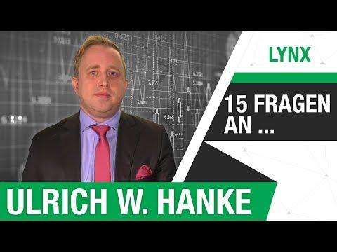 """""""Natürlich habe auch ich Lehrgeld gezahlt"""" - 15 FRAGEN an Ulrich W. Hanke   LYNX fragt nach Teil 1"""