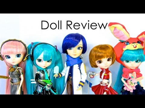 Doll Review: Pullip Vocaloid   Plus Quick Craft Doll Cell Phone