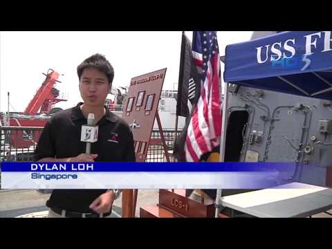 US warship arrives in S'pore for Southeast Asian deployment - 18Apr2013