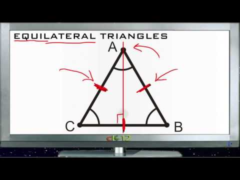 Equilateral Triangles Principles - Basic