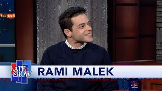 "Rami Malek, After Kissing Daniel Craig: ""Does This Make Me A Bond Girl?"""
