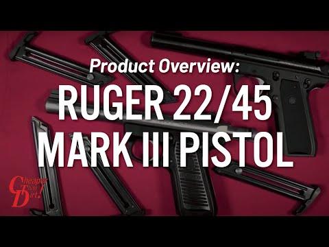 Ruger 22/45 Mark III - CheaperThanDirt.com - Firearm Outline