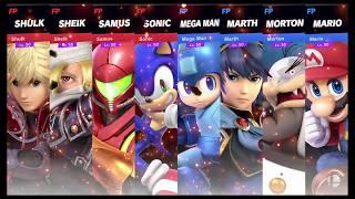 Super Smash Bros Ultimate Amiibo Fights   Request #4111 S vs M