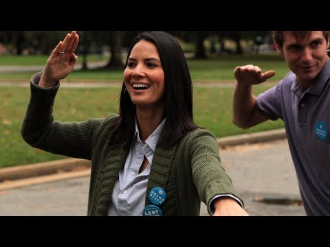Olivia Munn: Gotta Vote - OFA Virginia