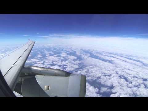Frankfurt - Hamburg Lufthansa A319 (full flight)