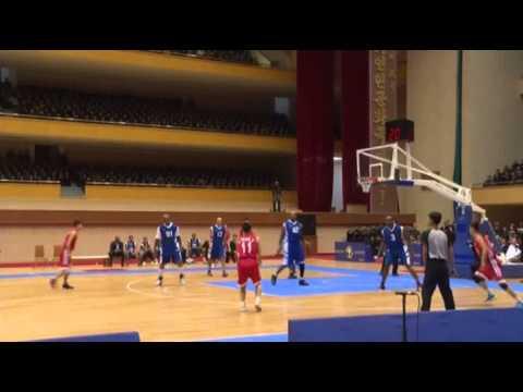 (Raw) Rodman Holds Kim Jong Un's Birthday Basket