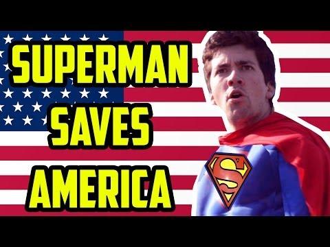 SUPERMAN SAVES AMERICA