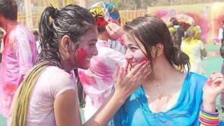 Priyal Gor and Ashish Kapoor - Holi Bash 2012