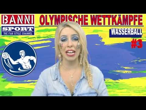 WASSERBALL Water Polo Acuático #3 - Olympic Wettkampf - Original Banni Sport Fan Style & Make-up