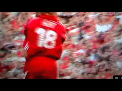Daniel Agger goal vs chelsea 2007