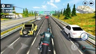 Highway Moto Rider Traffic Race - Android Gameplay FHD