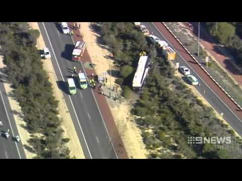 Crash Chaos   9 News Perth