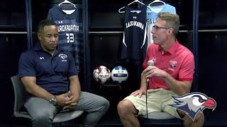 Lackawanna College Media Day 2019, Men/Women's Soccer Head Coach Les Smith