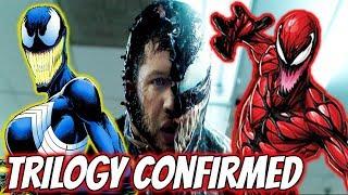 Tom Hardy Confirms Venom Trilogy! SHE-VENOM & CARNAGE Explained!