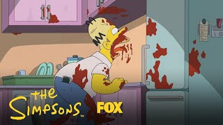 Homer Slurps Spaghetti Sauce | Season 30 Ep. 22 | THE SIMPSONS