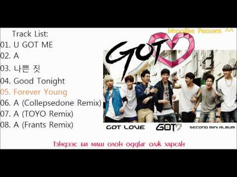 [MGL SUB] GOT7 - Got Love full album
