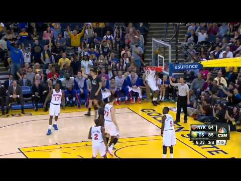 Golden State Warriors VS NY Knicks [March 14,2015]