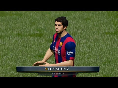Fifa 15 - Barcelona Vs Chelsea (full 30 Minutes Gameplay | Pc video