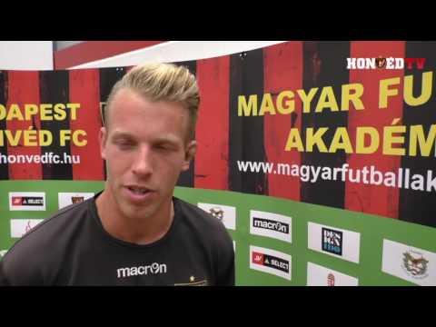 Honvéd TV | Gróf és Gazdag beszél a Videoton elleni bajnokiról - kattintson a lejátszáshoz!