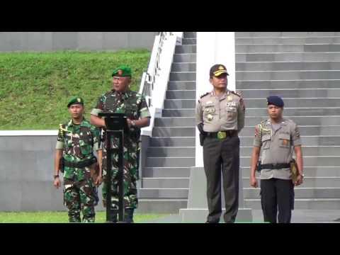 APEL BERSAMA TNI POLRI DI KODAM XIII MERDEKA DOK NET TV ANITA