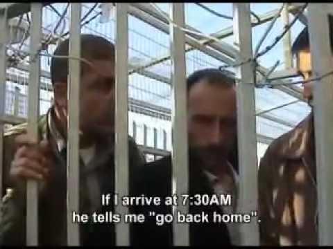 Daily life in Palestine ; Checkpoint Bethlehem
