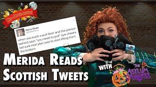 Co-Optimistic: Merida Reads Scottish Tweets