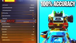 How To ABUSE Aim Assist + Improve Aim PS4/XBOX Controller COD BO4! (BEST SETTINGS COD BO4)