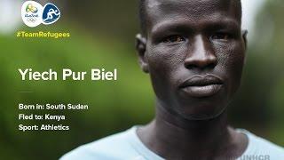 #Team Refugee: Yiech Pur Biel