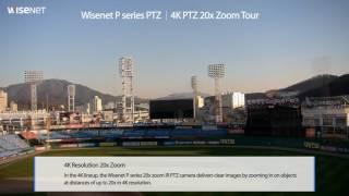 Wisenet P Series 4K IR PTZ PNP-9200RH