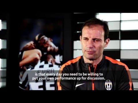 Massimiliano Allegri Interview