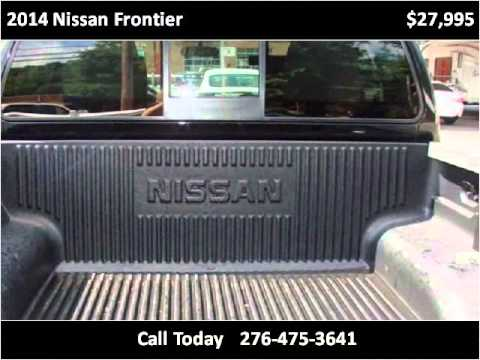 2014 Nissan Frontier Used Cars Damascus VA