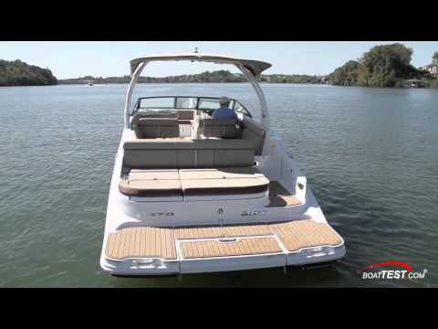 Sea Ray 270 Sundeck (2016-) Features Video- By BoatTEST.com