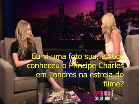 Entrevista Avril Lavigne ao Chelsea Lately (legendado)