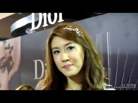 120304 [HD] เชียร์ ฑิฆัมพร – Dior event at Central Chidlom