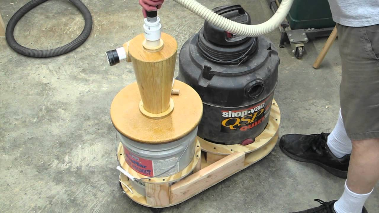 Shop Vac 5 Gallon Cyclone Separator Part 4 Youtube