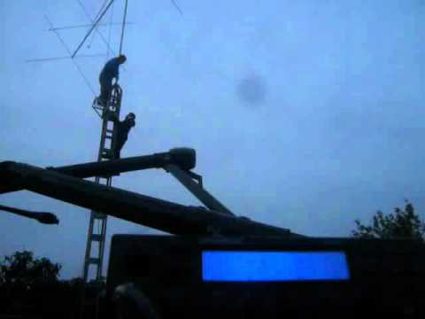 4 Element Long Boom Cubical Quad for 27 Mhz - Big Signal Antennas