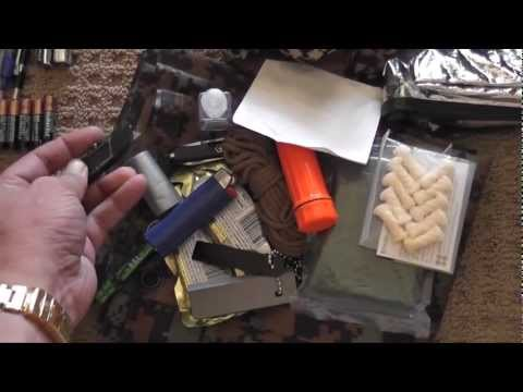 SHTF EDC Every Day Carry Car Bag Contents