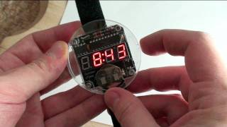 Assembling the Solder_Time LED Watch Kit