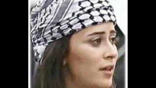 علي الكوفية بصوت نجمة فلسطين الاولى ليان بزلميط