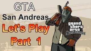 GTA San Andreas Let's Play Part 1 Big Smoke
