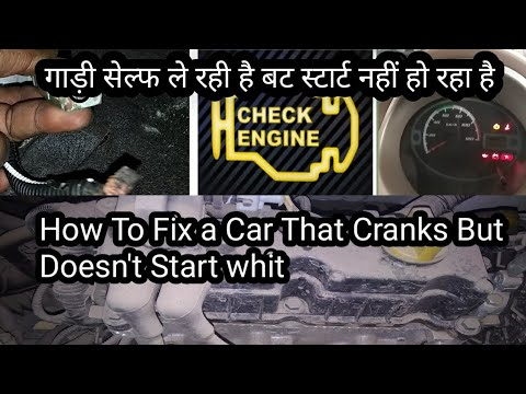 How To Fix a Car That Cranks But Doesn't Start whit  Autocar doctor