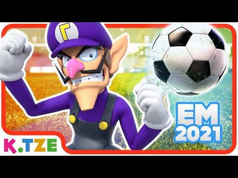 Fußball EM 2021 mit Waluigi? ⚽️ Super Mario Odyssey & Charged Football | Story