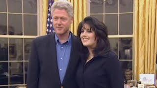 Monica Lewinsky Looks in Awe of President Clinton in Newly Surfaced Video