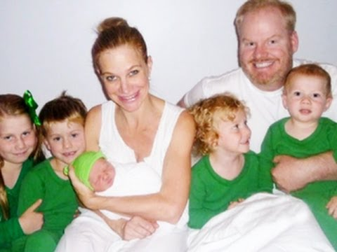 Photo of Jim Gaffigan & his  Daughter  Katie Louise Gaffigan