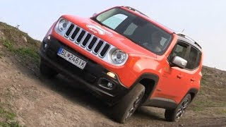 Off-road test - 2015 Jeep Renegade 4WD