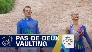Pas-De-Deux Vaulting - Italy claims gold! FEI World Equestrian Games 2018