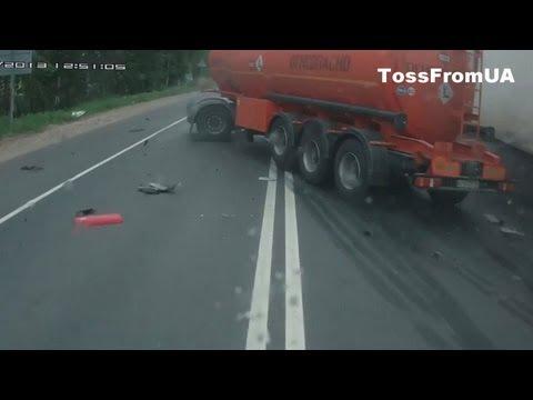 Car Crash Compilation June 2013 in Russia