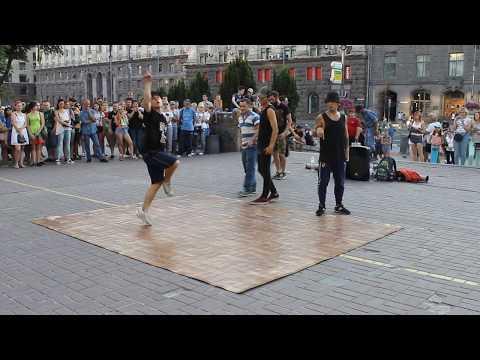 Уличные танцы на Крещатике (Киев 2017)